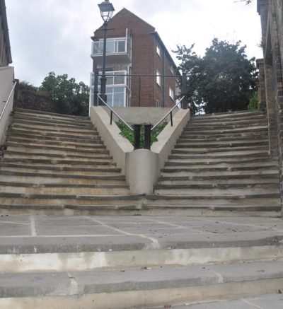 Parade Steps Folkestone - Refurbishment of Steps
